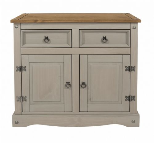Premium Corona Grey Wash Small Sideboard